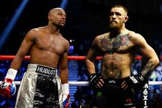 And so the plot now thickens. Last Friday, the world of boxing and MMA turned