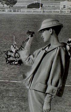 1958 - Yves Saint Laurent for Christian Dior