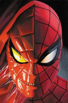 Spiderman by Alex Ross Marvel Dc, Marvel Comics, Comics Spiderman, Spiderman Spider, Amazing Spiderman, Marvel Heroes, Captain Marvel, Comic Movies, Comic Book Characters