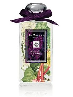 Sometimes the fragrance is almost beside the point, as is the case when the bottle is this jaw-droppingly gorgeous. Jo Malone London White Lilac & Rhubarb Cologne via Saks Fifth Avenue