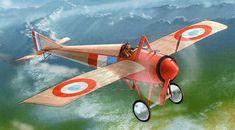 WWI Morane-Saulnier Type N Monoplane Fighter V3 Aircraft Paper Model