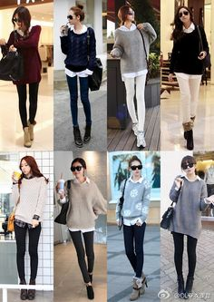 Love this Style in sweaters!!