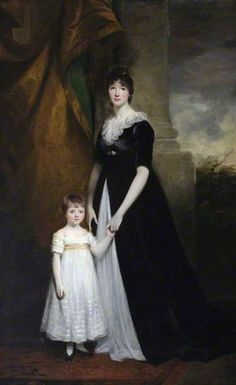 Lady Caroline Villiers (1774–1835), Lady Paget, Later Duchess of Argyll, with Her Eldest Son Henry (1797–1869), Later 2nd Marquess of Anglesey