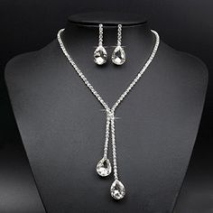 Women's Wedding Jewellery Sets Fashion Bride Earrings & Necklace Broadfashion http://www.amazon.com/dp/B00T9H4VJ6/ref=cm_sw_r_pi_dp_jyzdvb0QBVPP6