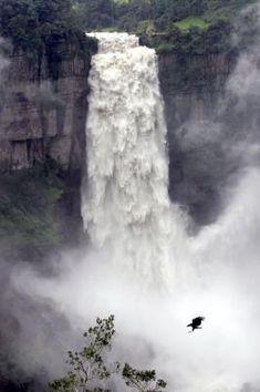 Tequendama Falls Columbia South America