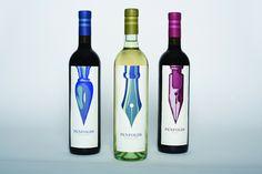 Krop - Pluck't wine bottle labels – ink nibs. #packaging #writing