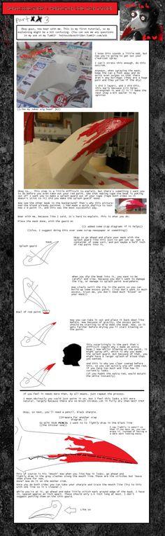Heinoustuck Dave Bird/Plague Mask Tutorial pt.3 by Synonym-of-Antonym