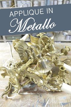 ridipingere il metallo Tutorial, Metallica, Hobby, Room Decor, Creativity, Furniture, Projects To Try, Bricolage, Room Decorations