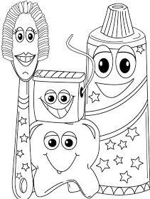 Pra Gente Miúda: Desenhos para colorir - Higiene