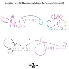 Custom handwritten logo / signature design / initials by helloaimi