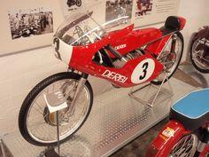 Derby 50cc Motorbike. Museu de la Moto (Museum of the Motorbike). Barcelona, July 2011
