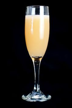 Barbie Cocktail (1 shot Malibu rum 1 shot vodka 1 shot cranberry juice 1 shot orange juice).