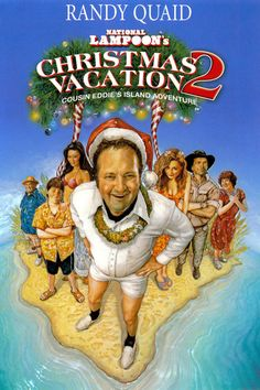 After getting bitten by a lab monkey, Eddie's boss sends him and his family on a South Pacific Christmas vacation in the hopes that Eddie won't sue. When the family winds up trapped with their guide on a tropical island, it's Eddie to the rescue when he finally gets a chance to prove himself to be a real man.