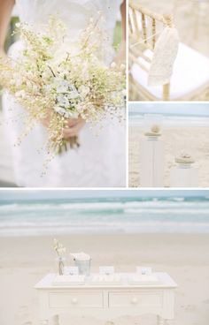 beach wedding sweet theme • Find us on Facebook.com/BeachAndWedding to get marriage at the beach in Thailand • And 1000+ ideas for bride and groom.