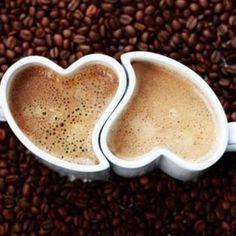 Café en pareja.
