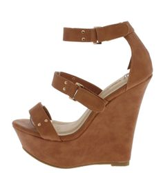 3f972a2d93 FANSON2 TAN WEDGE from wholesalefashionshoes.com Tan Wedges, High Wedges, Wholesale  Fashion Shoes
