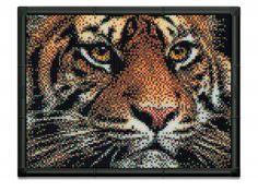 Pixel Art Quercetti Tiger