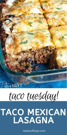 Easy Mexican Casserole, Easy Casserole Recipes, Taco Casserole, Italian Casserole, Casserole Dishes, Beef Dishes, Food Dishes, Hamburger Dishes, Main Dishes