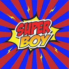 Do you have a SuperBoy?  Give him a personalized book showing your SuperBoy in action.