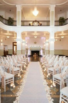 Love this look plantation house in hockley texas pinteres i like the angle of the chairs the aisle runner and i like the sashes the way they lay on the chairs junglespirit Choice Image