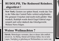 Newspaper Postkartenserie