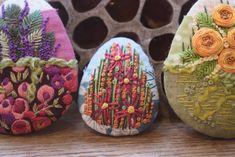 Dotty Textiles: Stitchscape Pebbles Textile Art, Textiles, Design, Design Comics, Cloths, Fabrics