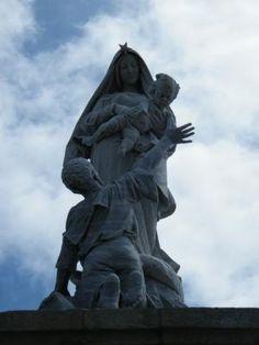 Notre Dame des Naufragés à la Pointe Du Raz à Plogoff .  | Bretagne | Finistère | #myfinistere
