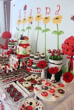 """Photo 22 of 27: Ladybug Birthday Party / Birthday """"Ladybug 2nd Birthday Party"""""""