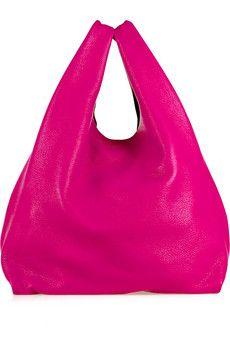 jil sander market leather bag