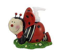 Cute Ladybug Soap Dispenser