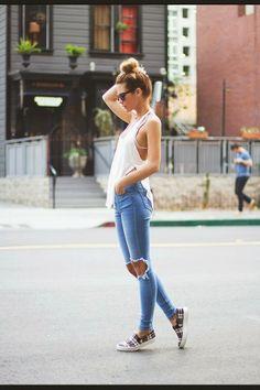 McSiroisFR Le jeans troué