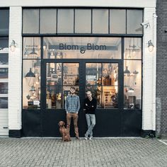 Blom&Blom refurbished furniture and lamps, rescued from old factories from east Germany.
