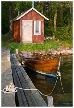Postcard from Sweden - Vadstena, Ostergotland