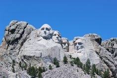 From historical gems in the Black Hills to prairie towns, we explore some of the beautiful places found throughout South Dakota. Travel Maps, Travel Usa, Travel Photos, Mount Rushmore, Road Trip Map, Road Trips, Famous Landmarks, Camping World, South Dakota