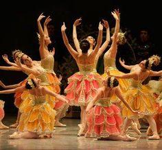 Nutcracker - Waltz of the Flowers San Francisco Ballet.