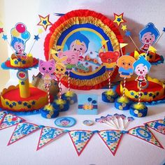 Plim Plim children's theme party - Celebrat : Home of Celebration, Events to Celebrate, Wishes, Gifts ideas and more ! Birthday Sweets, Party Sweets, 1st Birthday Parties, Birthday Celebration, Girl Birthday, Clown Party, Circus Party, Party Themes For Boys, Birthday Party Decorations