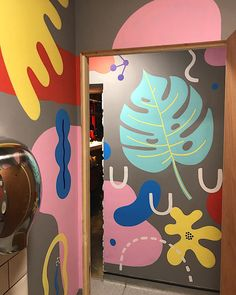 Anna Higgie | Illustrator | Central Illustration Agency  #mural #bold #colour #colourful