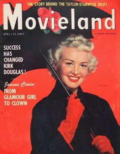Betty Grable - Movieland - April 1951
