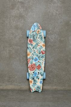 penny board flower printed