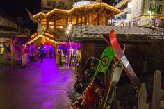 The popular afterski place Kuhstall in Ischgl, Austria.