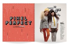 ★ DESIGN ARMY – Washingtonian MOM Premiere Issue: Pixel Perfect (Editorial Design and Art Direction) © Design Army LLC