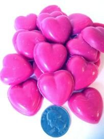 April Fresh Downy Heart Shaped Candle Tart Melts