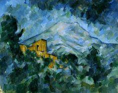 Paul Cézanne: Mont Sainte-Victoire and Château Noir, 1904-06