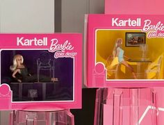 Barbie house furniture by Kartell – Kartell experience Barbie House Furniture, Home Furniture, Barbie Go, Ghost Chairs, Barbie Birthday, Barbie Dream House, Save The Children, Chairs For Sale, Cool House Designs
