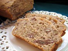 Southern Living's Cream Cheese Banana Bread Southern Living's Cream Cheese Banana Nut Bread…healthier Vers Banana Nut Bread Healthy, Banana Bread Recipes, Nut Bread Recipe, Toasted Pecans, Southern Living, Delish, Sweet Tooth, Favorite Recipes, Breads