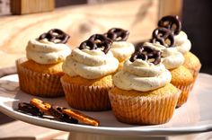 Bier-Brezn-Cupcakes