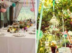 Indoor and outdoor birdcage decorations