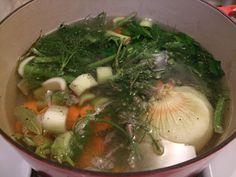 ༺༺༺♥Elles♥Heart♥Loves♥༺༺༺ ..♥Recipes Homemade Broth♥.. #Sugarfree #Recipe #Natural #Homemade #Meals #Broth #Stock #Bone #Marrow #Cooking #Healthy #Paleo #Diet ♥Recipes For Taking Stock of Chicken Stock
