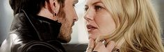 But lets talk about this moment. Neither of them pull away, they stare into eachothers eyes, rest their foreheads together and move closer. Then Killian goes in again. Emma gives him this little smile and look of love and it gives him hope, hope that the girl he loves finally feels the same way