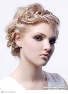 Peinados a la Moda: Elegantes Peinados de fiesta para Adolescentes - Moda 2013